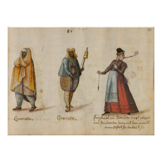 Costumes and customs (1560 - 1570) poster