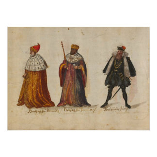 Costumes and customs(1560 - 1570) poster