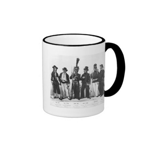 Costumes of French marines from 1680 to 1854 Mug