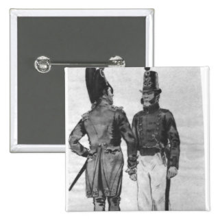 Costumes of French Marines from 1804 to 1814 15 Cm Square Badge