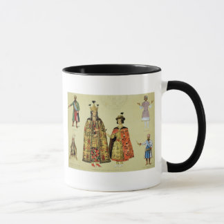 Costumes of the 17th and 18th centuries, plate 56 mug