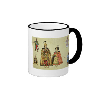 Costumes of the 17th and 18th centuries, plate 56 coffee mug