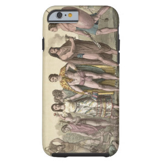 Costumes of the Mexicans (colour engraving) Tough iPhone 6 Case