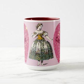 Costumes ~ Personalised CAROLINE ~ Valentine's Day Mug