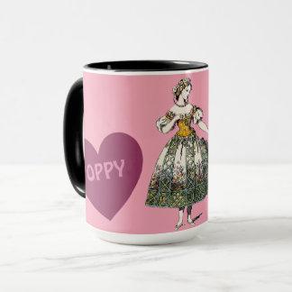 Costumes ~ Personalised POPPY~ Valentine's Day Mug