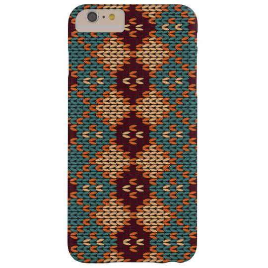 Cosy Cable-knit Boho iPhone Case