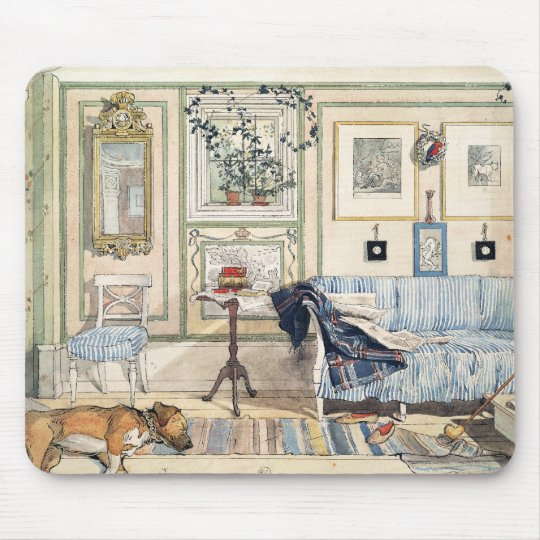 Cosy Corner by Carl Larsson Mouse Mat