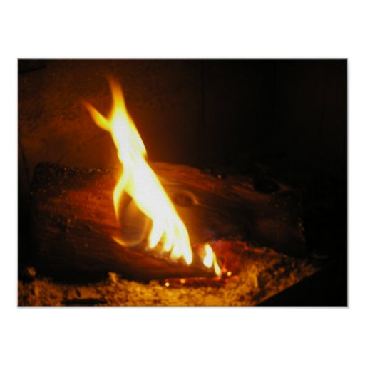 Cosy Fire Poster