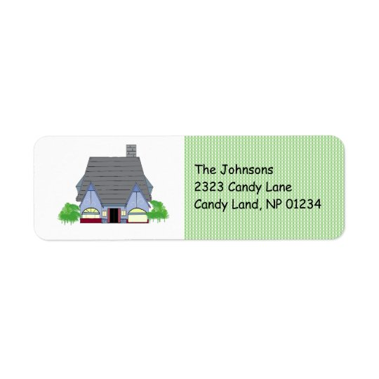 Cosy House Return Address Return Address Label