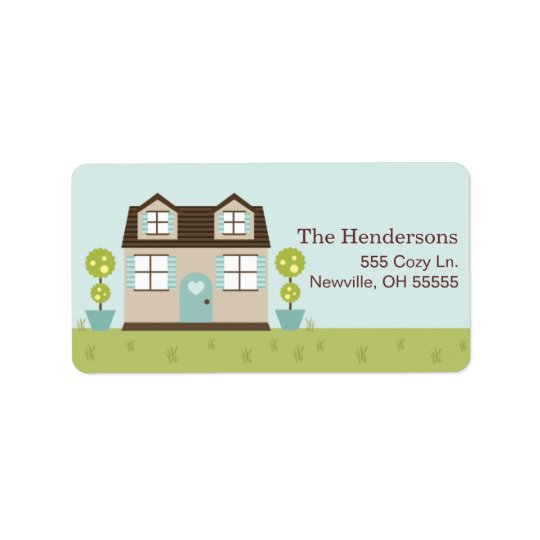 Cosy Little Home Address Labels
