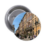 Cosy Old Town in Warsaw Pinback Button