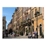 Cosy Old Town in Warsaw Postcard