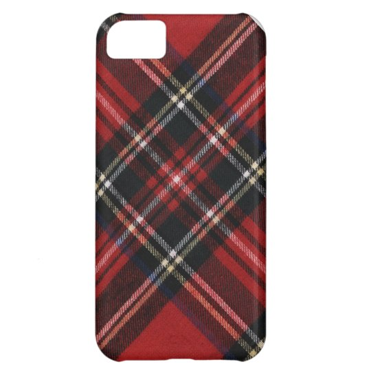 Cosy Red Plaid iPhone 5C Case