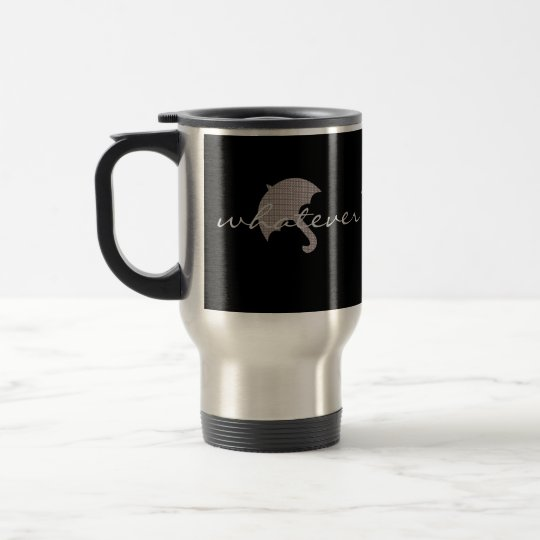 Cosy Up Whatever The Weather Umbrella Travel Mug