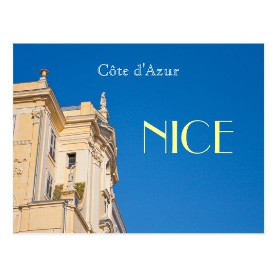 Cote d' Azur NICE postcard