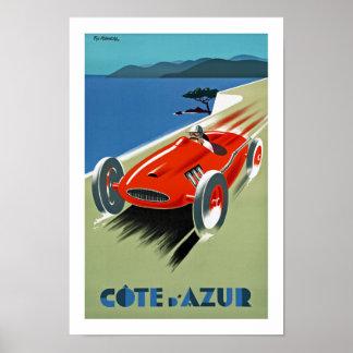 Cote d Azur Posters