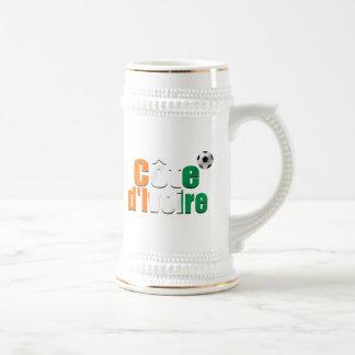 Côte d Ivoire logo football fans soccer ball gifts Mug