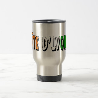 Côte d'Lvoire Stainless Steel Travel Mug