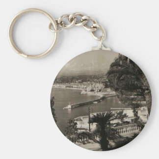 COTE D'AZUR - Nice 'Promenade des Anglais' 1950 Key Ring