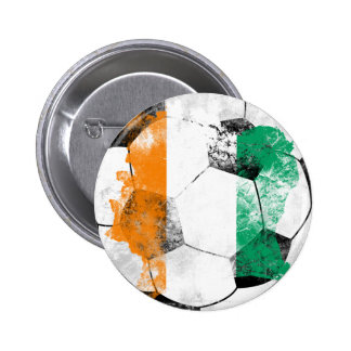 Cote d'Ivoire Distressed Soccer Pins