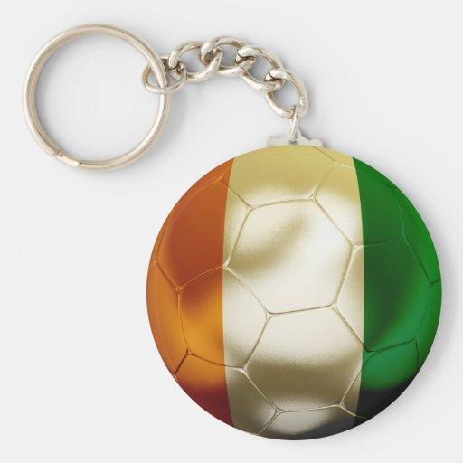 Côte d'Ivoire Football Key Chains