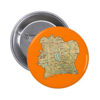 Cote d'Ivoire Map Button