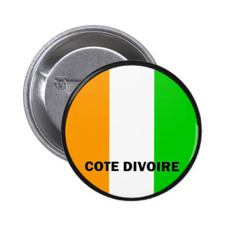 Cote Divoire Roundel quality Flag Pin