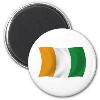 Cote d'lvoire (Ivory Coast) Flag Magnet
