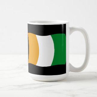 Cote d'lvoire (Ivory Coast) Flag Mug