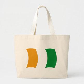 Cote d'lvoire (Ivory Coast) Flag Tote Bag