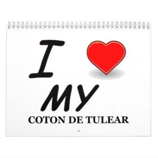 coton de tulear Calendar