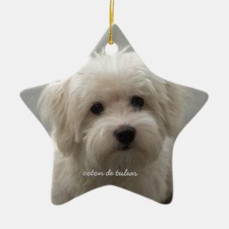 Coton de Tulear Christmas Ornament