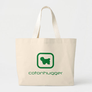 Coton de Tulear Large Tote Bag