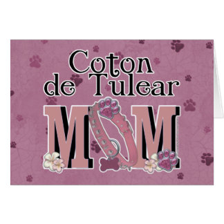 Coton de Tulear MOM Card