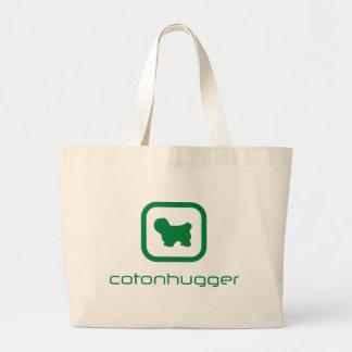 Coton de Tulear Jumbo Tote Bag