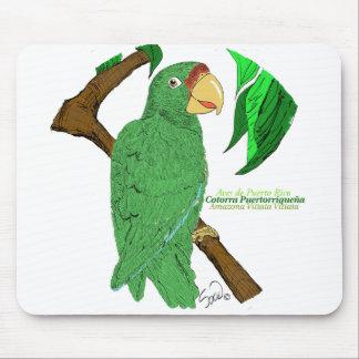 Cotorra Puertorriqueña/Puerto Rican Parrot Mouse Mat