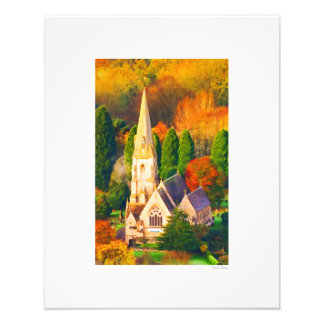 "Cotswold Church 16""x20"" Photo Print"