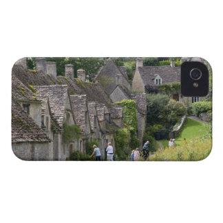 Cotswold stone cottages in the village of iPhone 4 Case-Mate case