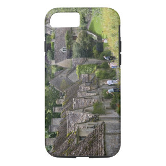 Cotswold stone cottages in the village of iPhone 8/7 case