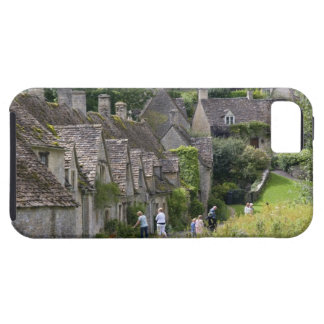 Cotswold stone cottages in the village of tough iPhone 5 case