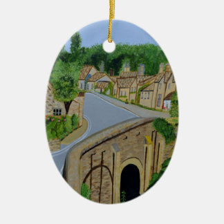 Cotswolds England Christmas Ornament