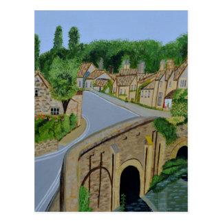 Cotswolds England Postcard