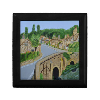 Cotswolds England Small Square Gift Box