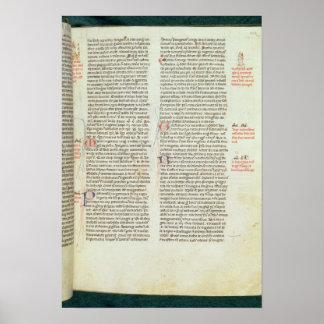 Cott Nero D II f.114 Adrian IV Poster