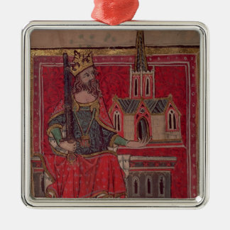 Cott Nero D VIII Offa, King of Mercia Christmas Ornament