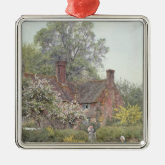 Cottage at Chiddingfold Christmas Ornament