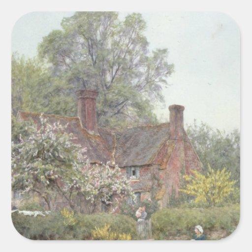 Cottage at Chiddingfold Sticker