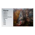 Cottage - Cranford, NJ - Autumn Cottage Pack Of Standard Business Cards