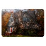 Cottage - Cranford, NJ - Autumn Cottage Magnets