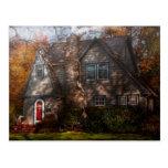 Cottage - Cranford, NJ - Autumn Cottage Post Card